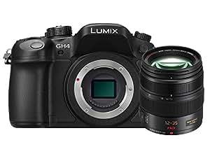 Panasonic Lumix GH4A 16MP Digital SLR Camera (Black) with 12-35 F2.8 Lens (Black)