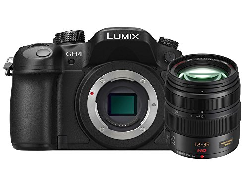 Panasonic Lumix GH4A 16MP Digital SLR Camera (Black) with 12-35 F2.8 Lens (Black)
