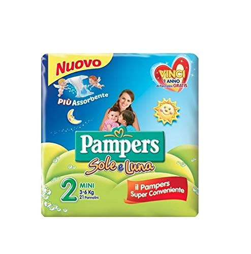 Pampers sole e luna Gr.2 21 Windeln 3-6 kg kinder baby diapers Packung