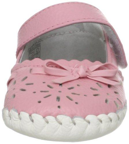 18 Rosa Rosa 3502 Babyschuhe Lamb 24 Lauflernschuhe Monate Leder Little Blue Echt Ballerinas Schleife qOCvvB