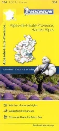 Mapa Local Alpes-de-Haute-Provence, Hautes-Alpes (Mapas Local Michelin) por Vv.Aa.
