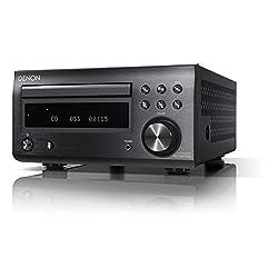 Denon D-M41DAB Hi-Fi Receiver with CD and Bluetooth - Black