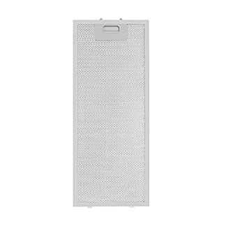 Klarstein Vinea – Filtro para grasa extraíble, Filtro de recambio, Filtro de aluminio, Accesorio, Juego de dos filtros, Cierre fácil de usar, 20 x 48,5 cm, Campana extractora Vinea, Blanco