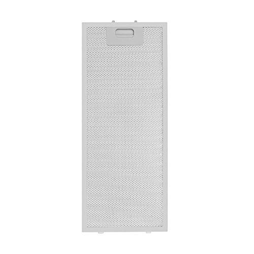 Klarstein Aluminium-Fettfilter • Ersatzfilter • Austausch-Fettfilter • Aluminium • Zubehör • 2er-Set • leichtgängiger Klickverschluss • ca. 20 x 48,5 cm (BxH) • für Vinea Dunstabzugshauben • weiß (Dunstabzugshaube-filter 20x20)