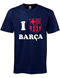 66aeb5cc343 FC Barcelona Official Football Gift  I Love Barca  Mens ...