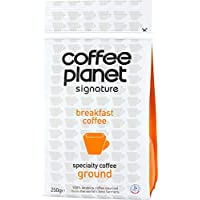 Coffee Planet Breakfast Ground Caffeinated Traditional - 250g