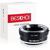 MD-NEX Adapter,Beschoi® MD to E Mount Lens Mount Adapter for