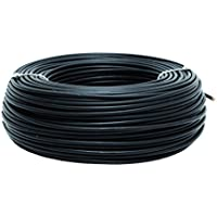 Cofan 51002554N Rollo Cable, Negro, H07V-K, 1 x 1.5 mm2, 100 m