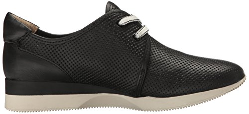 Naturalizer Jaque Leder Turnschuhe Black