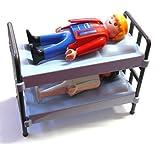 playmobil ® - Etagenbett - Etagen Bett - mit 2 Figuren - Hochbett Feldbetten für Gardesoldaten