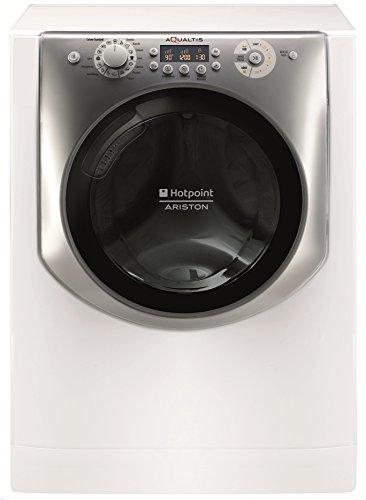 Hotpoint AQ86F 29 IT Libera installazione Caricamento frontale 8kg 1200Giri/min A+++ Argento, Bianco lavatrice