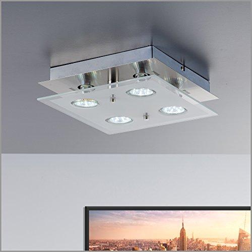 Plafoniera led quadrata lampada led 3w illuminazione - Illuminazione interni design moderno ...