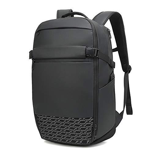 Rjj Business Herren Rucksack Multifunktions Erweiterbare Computer Tasche Outdoor Reiserucksack Stabil -
