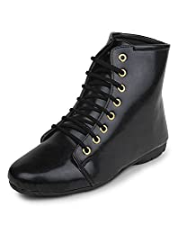 Meriggiare Women Synthetic Black Boots 41 EU