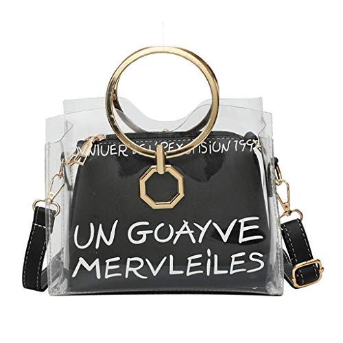 Prada Satchel Bag (Mitlfuny handbemalte Ledertasche, Schultertasche, Geschenk, Handgefertigte Tasche,Frau mode klar gelee umhängetaschen damen metall ring freizeit handtaschen)