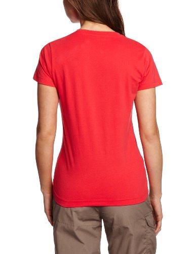 Craghoppers Malena T-shirt à manches courtes pour femme rouge - Rouge géranium