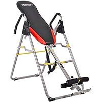 OneTwoFit Mesa de Inversión Máquina de Terapia de Estiramiento con Altura Ajustable para el Alivio del Dolor de Espalda OT079