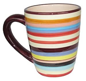 Sedona Stripe Tasse de la série Mon Oncle Charlie Marron/multicolore