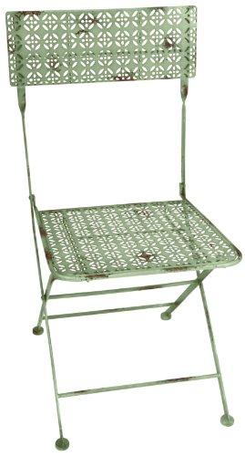 Bistro-klappstühle (Esschert Design IH Bistro Klappstuhl, grün, 44.3 x 50.3 x 87, IH009)