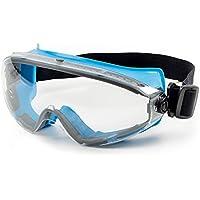 SolidWork Schutzbrille mit kratzfester Scheibe und Panoramablickfeld in Premiumqualität   Sicherheitsbrille mit perfektem Tragekomfort