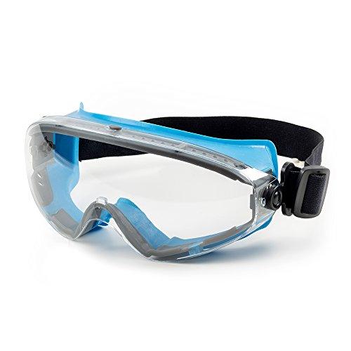 SolidWork Schutzbrille mit kratzfester Scheibe und Panoramablickfeld in Premiumqualität |...