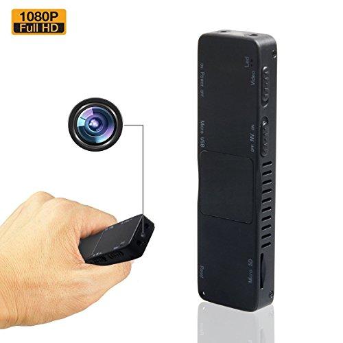 Mini Kamera, Zarsson Spion Versteckte Kameras Spy Cam Kamera Überwachung Nanny Cam mit HD 1080P Video, Nachtsicht und unterstützt 32GB SD Karte Für Heim und Büro Sicherheit