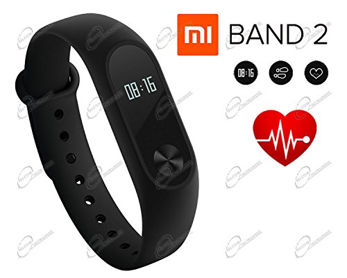Xiaomi Mi Band 2 Heart Rate Monitor IP67 Bluetooth OLED Touch Screen Notificatio