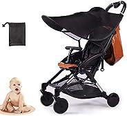 LIBRNTY Parasol para cochecito,Funda para cochecito de bebé, Sombrilla para cochecito,Toldo carrito bebe anti-