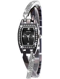 Damenuhren schwarz silber  Suchergebnis auf Amazon.de für: Softech-Damenuhren - Nicht ...