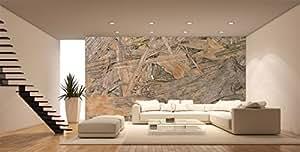 Motif bois fresque murale en bois , fresque murale ID-023