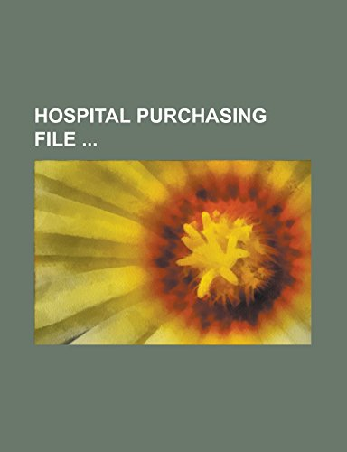 Hospital Purchasing File