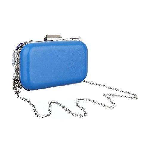 Ital-Design  Clutch-tasche Bei Ital-design, Pochette femme Blau Multi