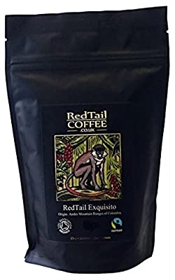 RedTail Coffee Exquisito Whole Bean Coffee, 250 g from Clayton & Charles Coffee Merchants