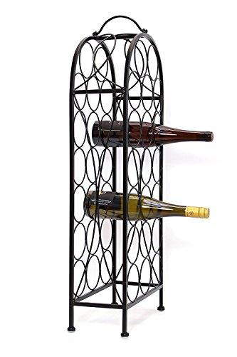 Metall Weinregal für 20 Flaschen - 4