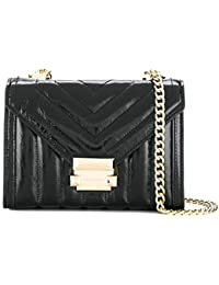 Michael Kors MICHAEL by Whitney Small Black Quilted Shoulder Bag
