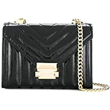 MICHAEL by Michael Kors Whitney Small Black Quilted Shoulder Bag