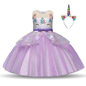 Disfraz de unicornio para niñas,