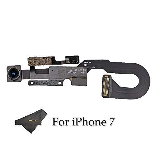 VANYUST Frontkamera Ersatz Kompatibel mit iPhone 7 mit Autofocus Flex Cable-Näherungssensor -