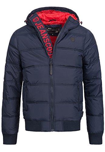 INDICODE Herren Jacke Adrian 5061 Blau XL