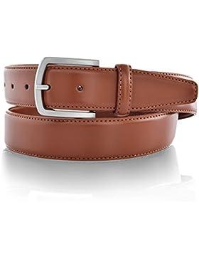 Uomini Cintura in pelle nickel free classico per il vestito 35MM