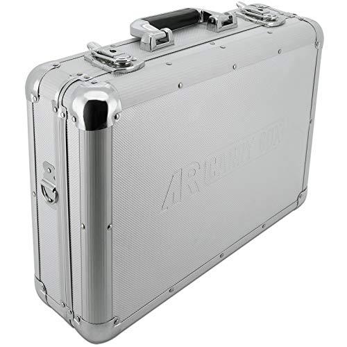 AR Carry Box® Alukoffer Werkzeugkoffer Aluminium Koffer leer (LxBxH) 430x330x140mm Farbe Alu/Silber