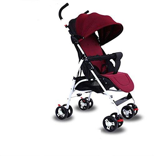 Baby trolley Sillita De Paseo Cochecito De Bebé Recién Nacido Sillita De Paseo Cochecito De Bebé Recién Nacido,Winered