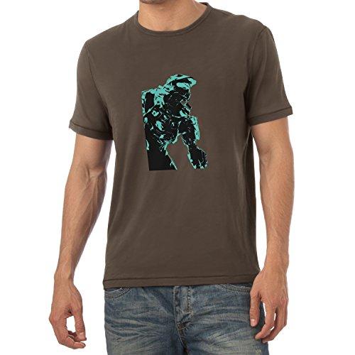 TEXLAB - The Master - Herren T-Shirt Braun