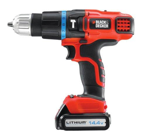 black-decker-144-v-lithium-ion-2-gear-hammer-drill