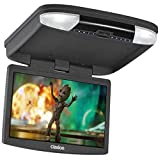 Clarion OHM 888 - Reproductor de video DVD + Monitor para coche, color negro