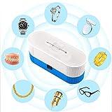 Pulitore ultrasonico Automatico Domestico Portatile per la Macchina di Pulizia dell'orologio dei Gioielli delle Lenti a Contatto di Vetro