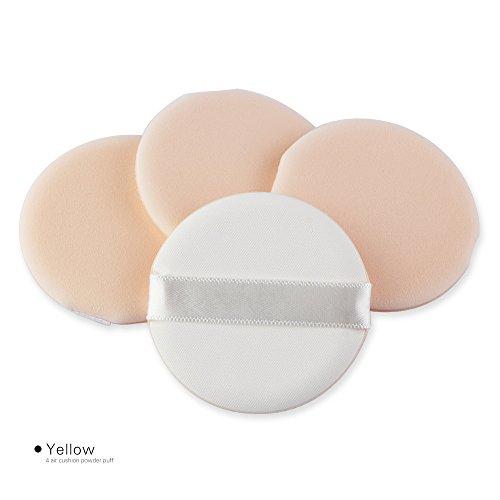 URSING Makeup Sponges Flawless Makeup Blender Fondation Puff Éponge en forme de mousse Éponge (Beige)