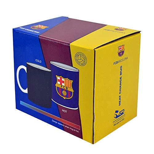 CF Barcelona Farbwechsel Kaffee/Tee Tasse