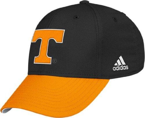 adidas Tennessee Volunteers Black & Orange Structured Flex Hat -
