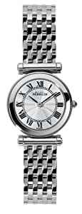 Michel Herbelin Antares Women's Quartz Watch with White Dial Analogue Display and Silver Stainless Steel Bracelet 17155/B08